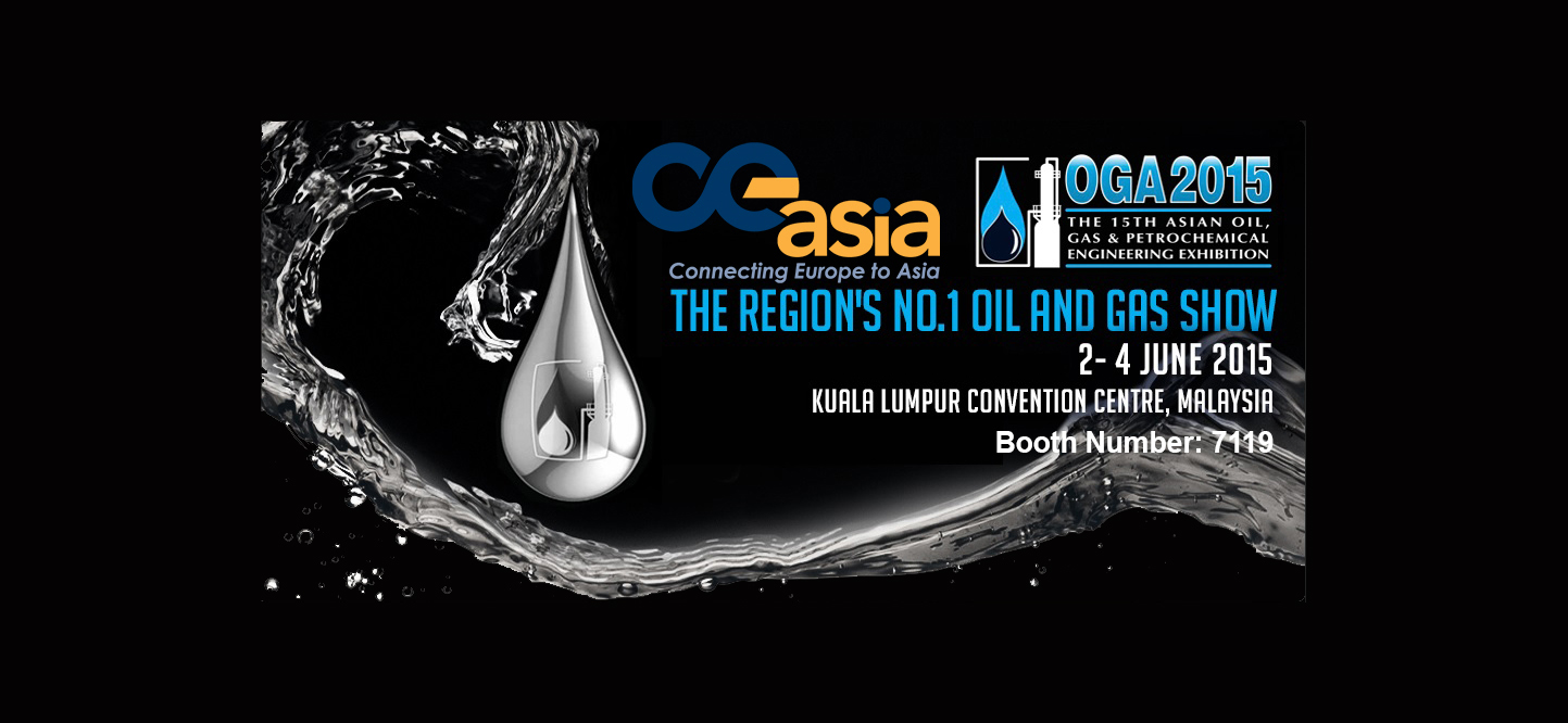 CE Asia at OGA 2015 at the Kuala Lumpur Convention Centre!
